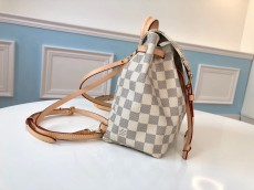 M44026 Louis Vuitton/LV damier canvas SPERONE mini travelling casual backpack small satchel