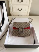 small size Gucci Dionysus female canvas casual shoulder messenger bag elegant street wear