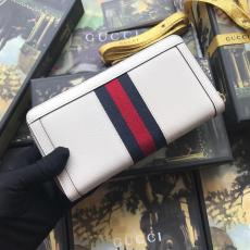 Gucci ophidia female zipper plain multi-slots cradl holder long purse wallet ready stocks real shot