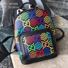 Gucci female casual waterproof zipper outdoor backpack large-capacity traveling bag
