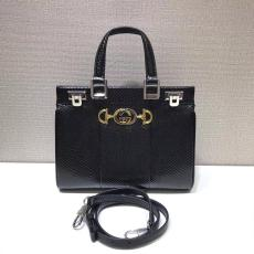 Gucci zumi female large-capacity triple-compartment luxury casual tote shoping bag medium size in Python leather