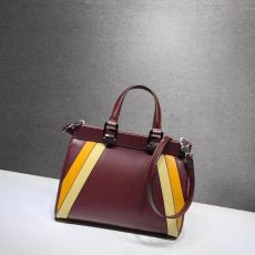Gucci zumi female  contrast color large-capacity triple-compartment casual shopping tote bag medium size