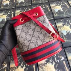 Gucci ophidia female tassel drawstring elegant bucket bag casual gorgeous street wear