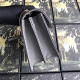 Gucci female casual clamshell double-compartment woc sling-chain shoulder bag fashion buckle makeup bag