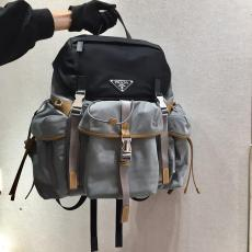 Prada neutral waterproof drawstring rucksack large-capacity lightweight durable mountaineering backpack