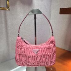 Prada female lightweight durable vintage hobo bag elegant clutch