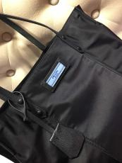 1BG184 Prada female recyclable nylon lightweight pure-clore shopping tote bag excellent handbag