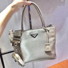 1BG320 Prada female waterproof nylon three-pieces set tote shopping bag large-capacity practical crossbody bag