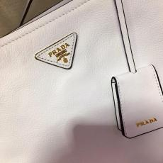 1BG122 Prada female large-capacity open shopping tote bag cansual stylish shoulder bag