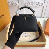 M56071 Louis Vuitton/LV Capucines BB delicate portable crossbody shoulder bag gorgeous street outfit for modern ladies
