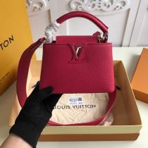 M56071 Louis Vuitton/LV Capucines BB female delicate portable crossbody shoulder bag gorgeous street outfit for modern ladies