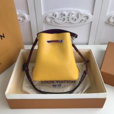 M52853 Louis Vuitton/LV female exquisite plain drawstring tassel bucket bag scratch-proof shoulder crossbody bag silver-tone hardware