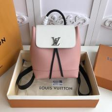M41815 Louis Vuitton/LV female pure-color drawstring tassel backpack excellent outdoor mountaineering rucksack multicolor for option