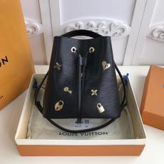 M53237 Louis Vuitton/LV female scratch-proof simplicity drawstring bucket bag multiple color for option