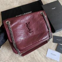 Yves Saint laurent/YSl NIKI28 medium size female stylish flip vintage crossbody shoulder bag excellent birthday gift for darling