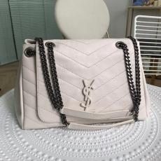 Yves Saint laurent/YSL Nolita female lightweight large-capacity shopping crossbody bag vintage  chain-strap messenger bag