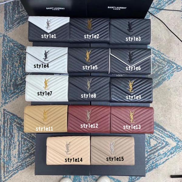 Small size Yves Saint laurent/YSL female WOC envelope-style chain-strap crossbody shoulder bag fashion smart bag