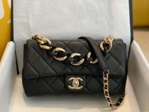 Chanel CF As1353 As1354 Female quilted flap portable crossbodybag acrylic-handle handbag multiple color for option