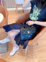 Chanel Trendy CC  AS92236 female quilted portage vintage chain-strap crossbody shoulder bag exquisite flap handbag