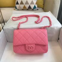 Chanel AS1754 female quilted flap smartphone makeup bag colored mini crossbody shoulder bag multiple variations