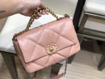 Chanel As1161 As1160 female tide quilted falp messenger commuter  bag graceful Double-C twist-lock handbag twins size