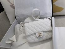 Chanel CF As1737 female classic flap crossbody shoulder bag three color for choice