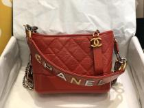 Chanel Gabrielle  A08022 female classic quilted hobo bag chain-strap portable crossbody bag luxury street wear