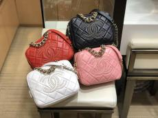 Chanel 1788 female quilted portage zipper camera bag chain-strap crossbody bag multicolor for option