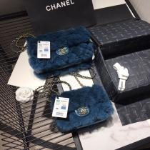 Chanel CF 25 classic flap woollen quilted crossbody bag graceful small square bag multiple color variation