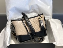 Chanel Gabrielle A08022 female quilted vintage hobo bag chain-strap crossbody shoulder bag multicolor for choice