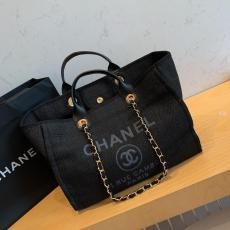 Chanel A66942 Classic lightweight large-capacity open shoping tote bag outdoor traveling luggage sand beach multistyle variation bag