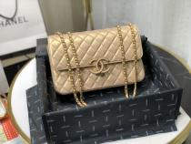 Chanel A57277 A57276 classic double flap bag quilted crossbody bag vintage messenger bag double size