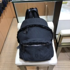 Chanel female casual lightweight woollen -fabric  backpack large-capacity trendy school bag