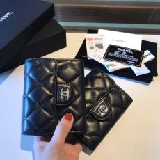Chanel CF series caviar black quilted flip bifold small purse smallwallet elegant coin pouch multislots card holder