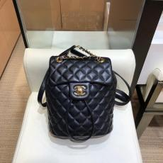 Chanel dupe mini backpack female quilted drawstring tassel backpack excellent street outfit for elegant look