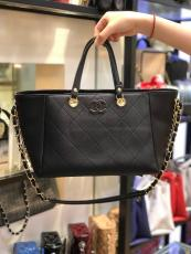 chanel casual large-capacity shopping tote bag versatile outdoor traving luggage exclusive party wear for elegant look
