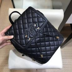 Chanel caviar duma backpack A091228 waterproof quilted drawstring backpack versatile outdoor rucksack