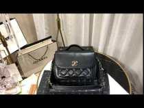 Chanel A93607 female  business affinity flap bag quilted portable vintage messenger bag stylish top-handle handbag