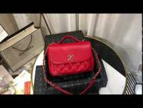 Chanel A93607 female  business affinity flap bag quilted portable vintage messenger bag stylish top-handle handbag