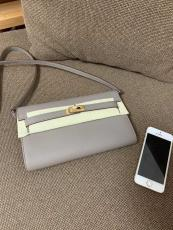 Hermes Kelly to go woc smartphone crossbody shoulder bag purely handmade  socialite clutch with detachable and adjustable shoulder strap