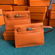 Hermes Kelly danse 22cm vintage versatile satchel bag elegant socialite clutch casual lightweight crossbody bag backpack