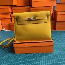 Hermes Kelly danse 22cm vintage versatile satchel bag elegant socialite clutch casual lightweight crossbody back multiple  color for option