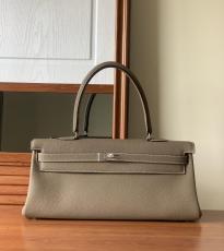 Hermes  shoulder Kelly handbag 42cm purely-handmade must-have female pieces in togo leather