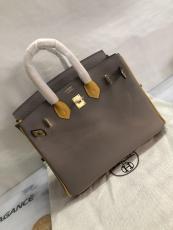 Hermes birkin 30 top-handle handbag casual outdoor shopping tote bag in Epsom leather
