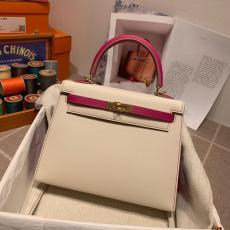 Hermes Kelly 28cm top-handle handbag purely-handmade women's piece vintage crossbody shoulder bag in Epsom leather gold hardware
