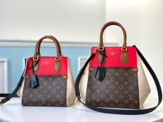 M45389 Louis Vuitton/LV Fold tote handbag female lightweight monogram shopping traveling bag amply internal space for essential terms