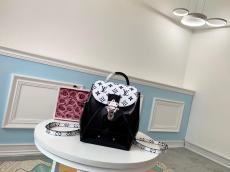 M53545 Louis Vuitton/LV hot spring mini backpack mixed-material versatile drawstring handbag