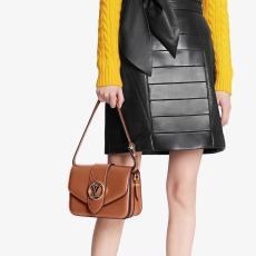 M55950 Louis Vuitton/LV Pont 9 handbag feminine vintage messenger crossbody bag with built-in clip for code scanning