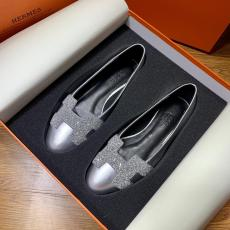 Hermes female casual breathable suede flat ballerinas shoe ballet toe shoe well-matched women's shoe piece   gorgeous street wear