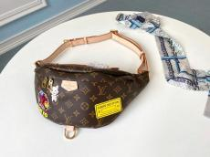 M43644 Louis Vuitton/LV female monogram casual waist belt bag vintage chest bag limited edition